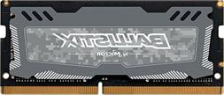 Ballistix Sport LT 16GB Single DDR4 2400 MT/s  DR x8 SODIMM