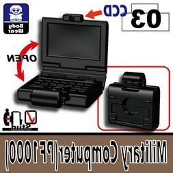 Military Computer  Tactical Laptop compatible with toy brick