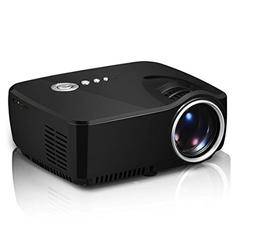 Zeasun 1200 Lumens 800x480 Mini Portable Multimedia Beamer 1