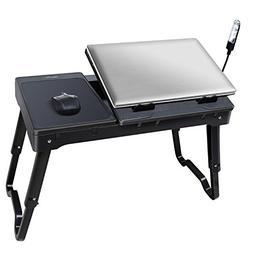 TeqHome Multi-Functional Portable Laptop Table