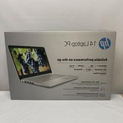 "NEW HP 14"" HD laptop AMD Ryzen 3 3.5GHz 1 TB HDD 4GB RAM Mic"