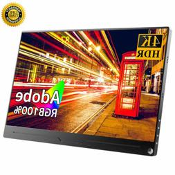 New 15.6 inch Support Hdmi Gaming Monitor HDR 3840x2160 4K F