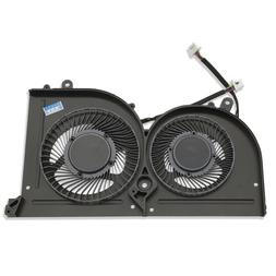 New Laptop GPU Cooling Fan For MSI GS63VR GS73VR Stealth Pro