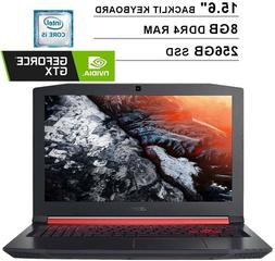 "Acer - Nitro 5 15.6"" Laptop - Intel Core i5 - 8GB Memory - N"