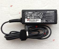 Original Genuine OEM Toshiba AC/DC Adapter Cord/Charger Tecr