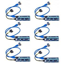 Gamelec PCI-E USB 3.0 Cable Express 1X to 16X Extension Cabl