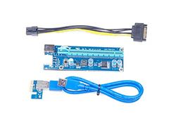 KNACRO PCI-E USB 3.0 Cable Express 1X to 16X Extension Cable