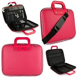 SumacLife Cady Briefcase Messenger Bag for HP 13.3 to 14 inc