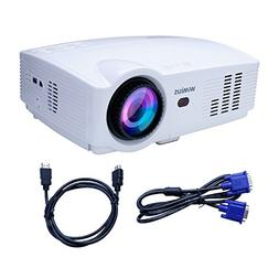 Projector, Video Projector HD 1080P Portable LED 3200 Lumens