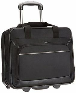 Rolling Laptop Case 17In Inch Computer Business Bag Wheeled