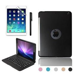 BoriYuan Slim iPad Mini 4 Case with Keyboard Aluminium Wirel