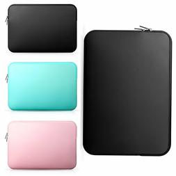 Soft Laptop Sleeve Case Cover Pouch Bag For 11.6-15.6 Notebo