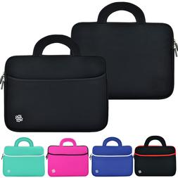 "Soft Neoprene Sleeve Case Cover Pocket Bag for 14"" Inch Lapt"