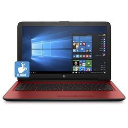"HP 15.6"" HD Touchscreen Flagship Laptop Computer, AMD Quad-C"