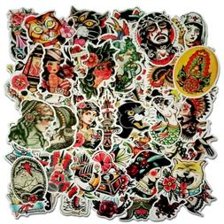 traditional tattoo sticker pack Old school bomb stickers lot