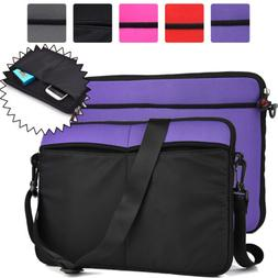 Universal 2-in-1 13 13.3 Inch Laptop Sleeve and Shoulder Bag
