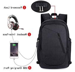 Business Laptop Backpack, FLYMEI Anti Theft Water Resistant