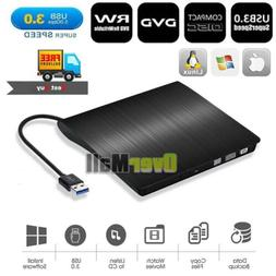 USB 3.0 External Optical Drive High Speed CD Burner DVD Play