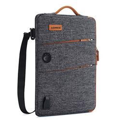 DOMISO 14 Inch Waterproof Laptop Bag Canvas with USB Chargin